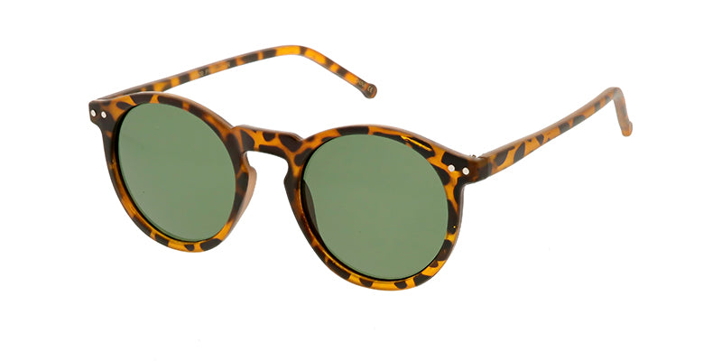 9727 Unisex Plastic Round Hipster Thin Frame