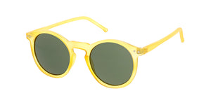 9939 Unisex Plastic Round Hipster Thin Frame in Vintage Colors