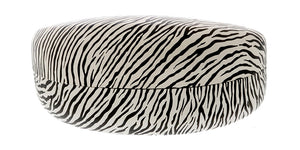 C2056ZBR Large PU Hard Eyewear Case w/ Zebra Print (Single Color)