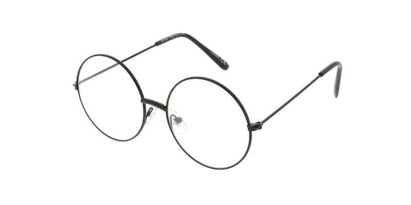 K3008CLR Kids' Metal Round Frame w/ Clear Lens
