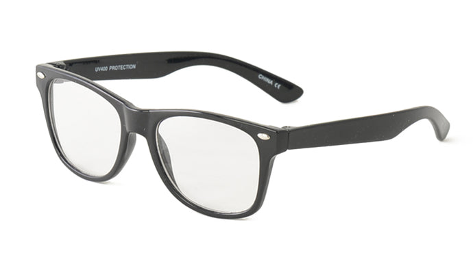 K6602CLR Kids' Black WF w/ Clear Lens