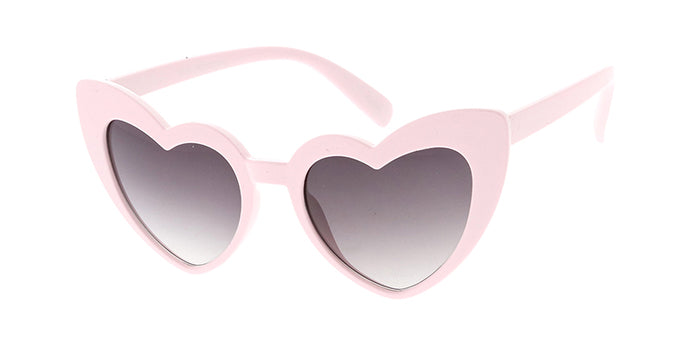 SPSK6630HRT Kids' Plastic Girls Heart Frame (RED and PINK only)