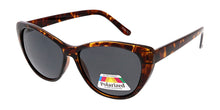 POLF1006 Women's Plastic Cat Eye w/ Polarized Lens