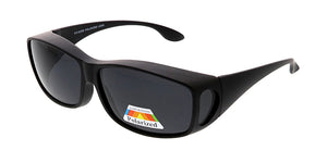 POLF1009 Unisex Plastic Large Fit Over w/ Polarized Lens