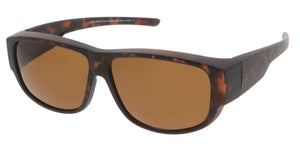 POLF1018 Unisex Large Plastic Fit Over Polarized Lens