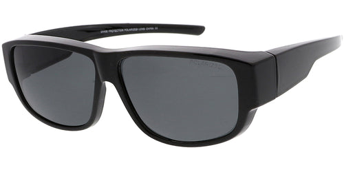 POLF1019 Unisex Large Plastic Fit Over Polarized Lens