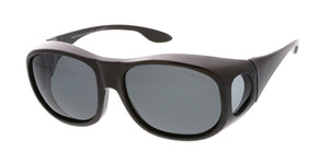 POLF1020 Unisex Large Plastic Fit Over Polarized Lens