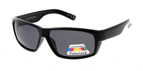 POLS2007 Men's Casual Plastic Frame w/ Polarized Lens