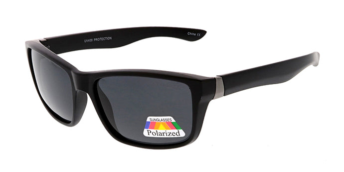POLS2010 Men's Casual Plastic Frame w/ Polarized Lens