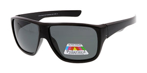POLS2011 Men's Casual Plastic Frame w/ Polarized Lens