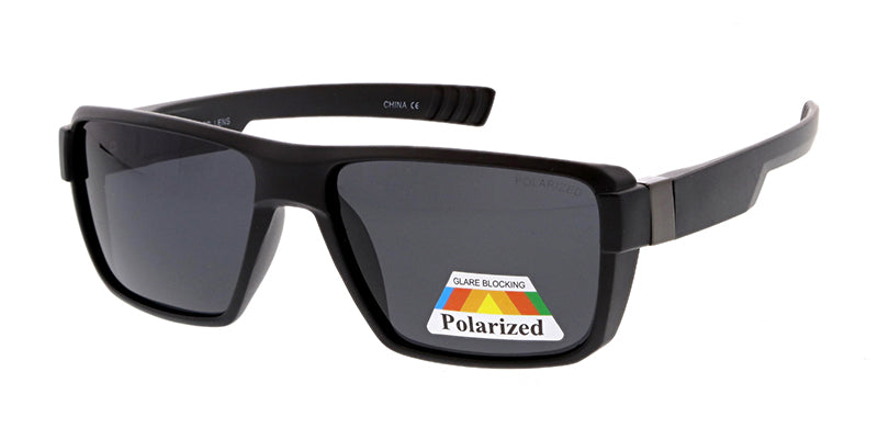 POLS2015 Men's Casual Plastic Frame w/ Polarized Lens