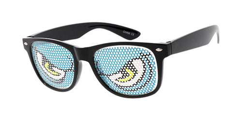PT620 Novelty WF Angry Monster Eyes Printed Lens