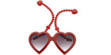 PT623 Novelty Large Heart Frame w/ Dangling Ear Hooks