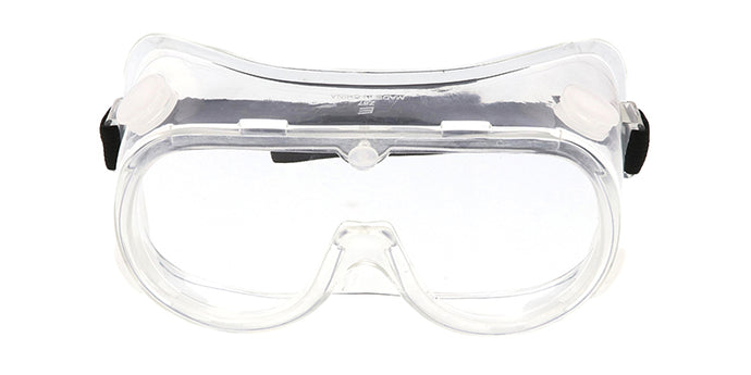 [10-PACK] Z87 Vented Reusable Fit Over Goggles w/ Anti-Fog Coating ($2.00/pc)