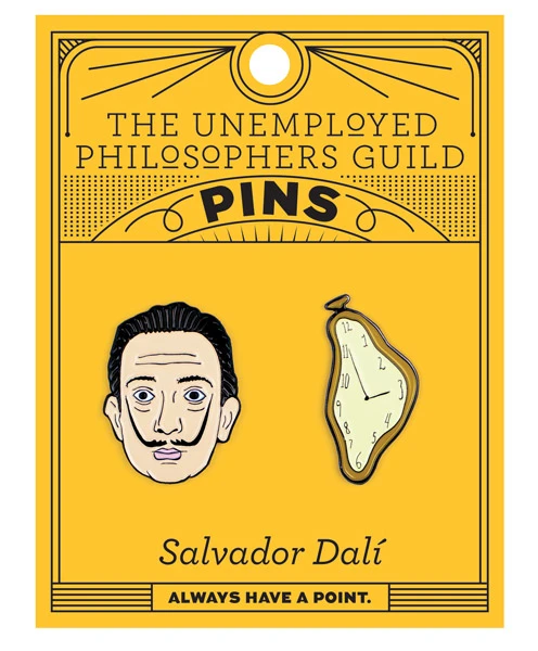 Dali & Melting Watch Pin Set