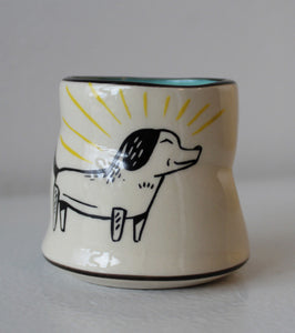 Lucky Little Dog Cup