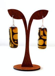 Glass Gem Earrings