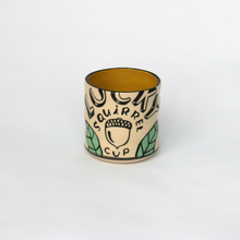 Lucky Squirrel Ceramic Cup