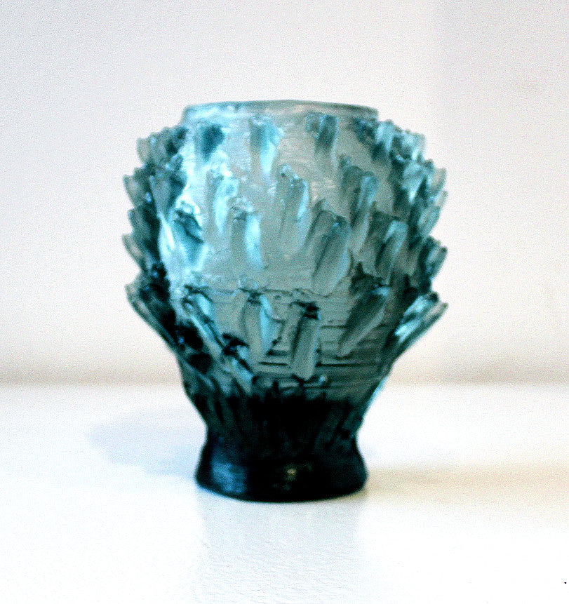 Green Glass Vessel