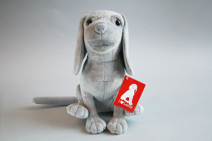 Leroy the Dog Plush