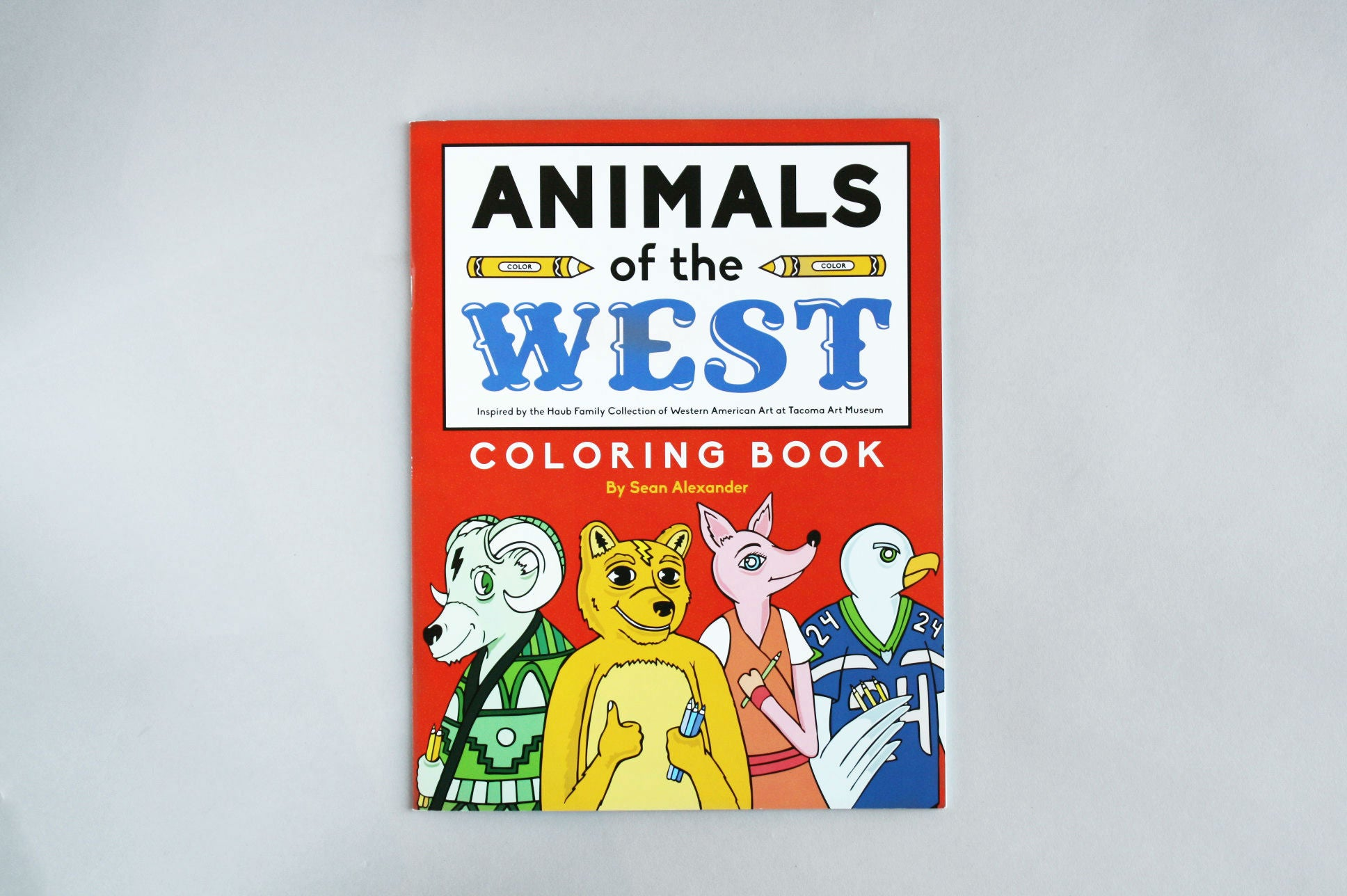 Animals of the West Coloring Book – Tacoma Art Museum Store