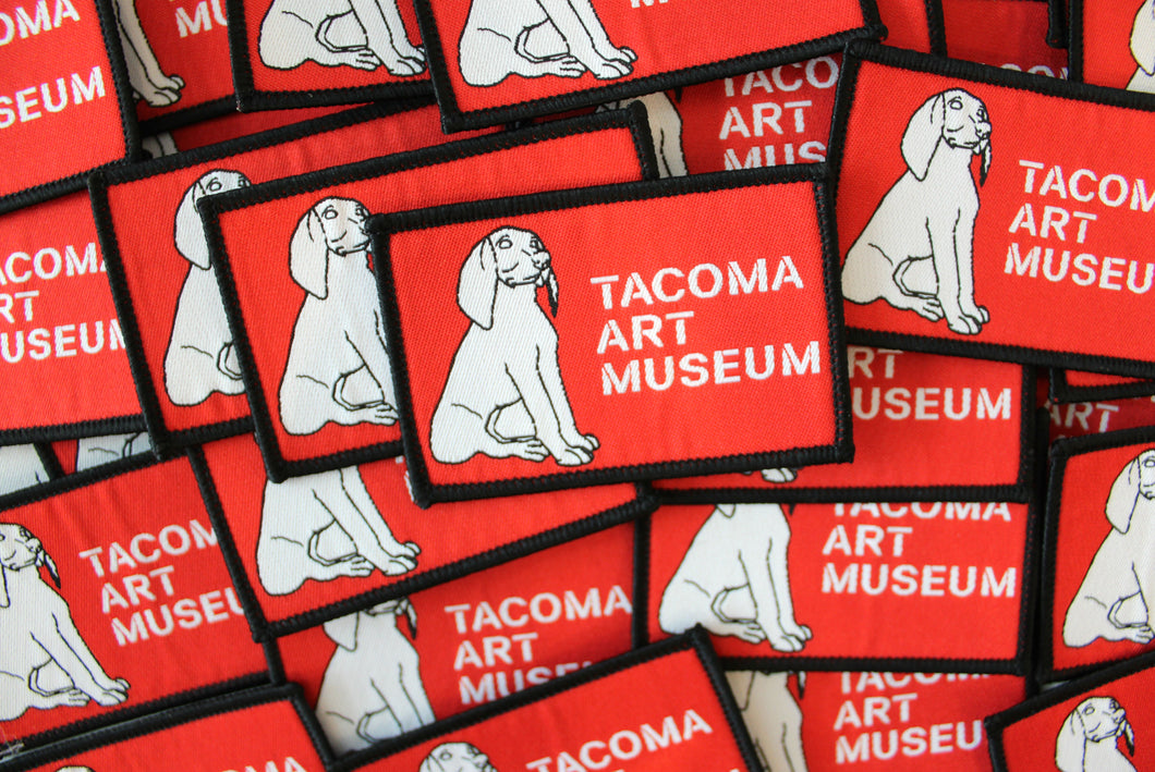 Tacoma Art Museum Woven Patch
