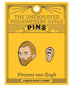 Van Gogh & Ear Pin Set