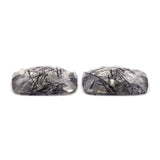 Tourmalinated Quartz Pair - Parcel D