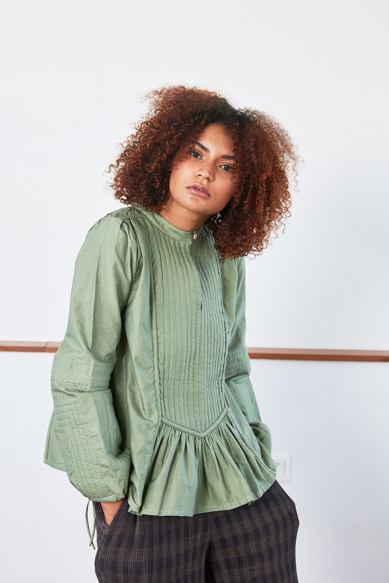 Calypso Top | Jade Green