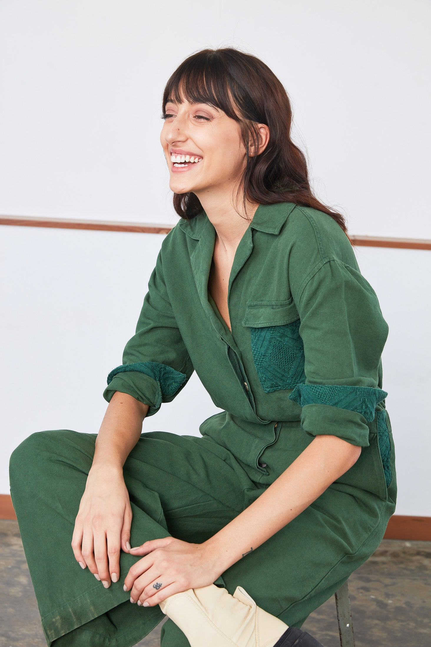Utility Jumper | Emerald