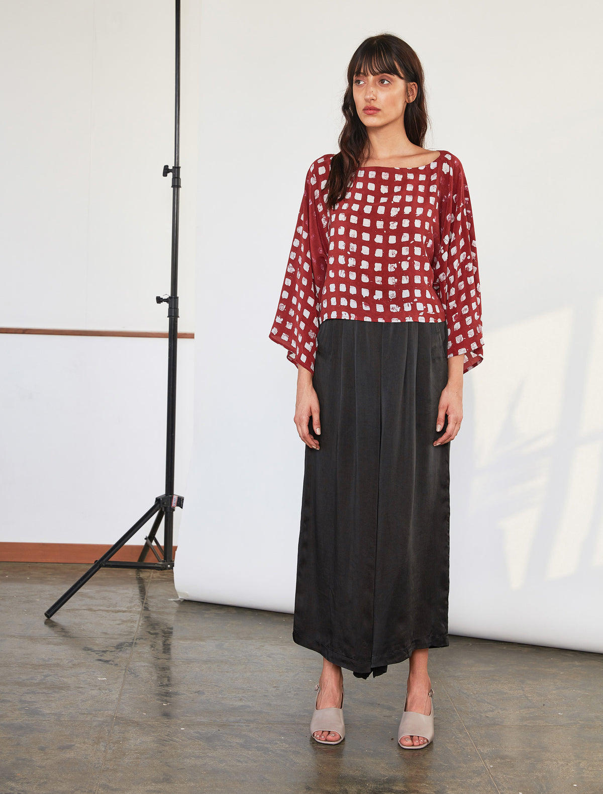Wide Leg Pants | Black