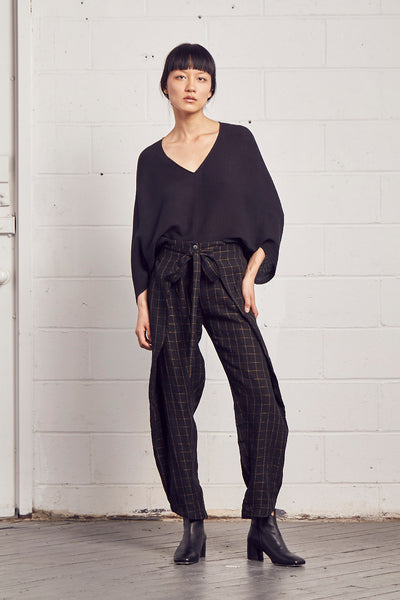 'SAM' Belted Wrap Pant
