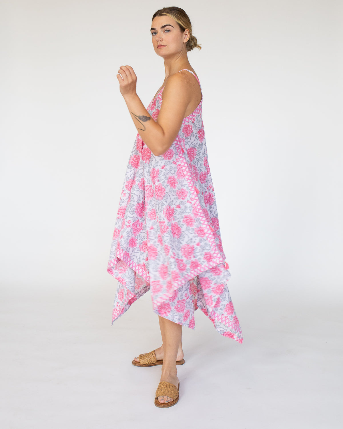 Handkerchief Cover Up Dress | Dusk Floral