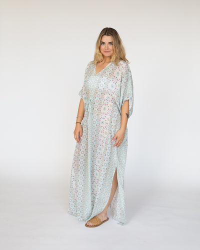 Marni Kaftan Dress | Sky