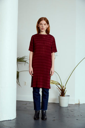 Chelsea Pleated Dress | Rosewood