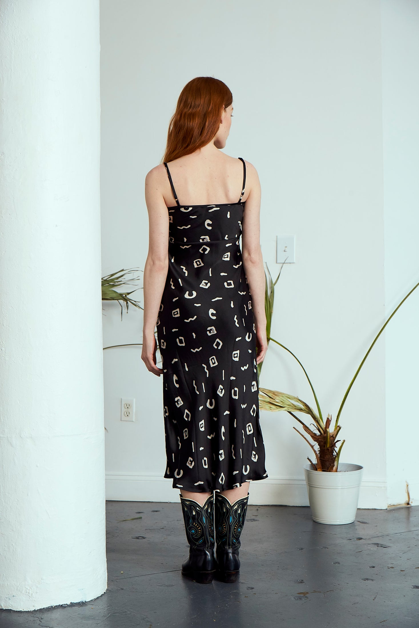 Frida Slip Dress | Black