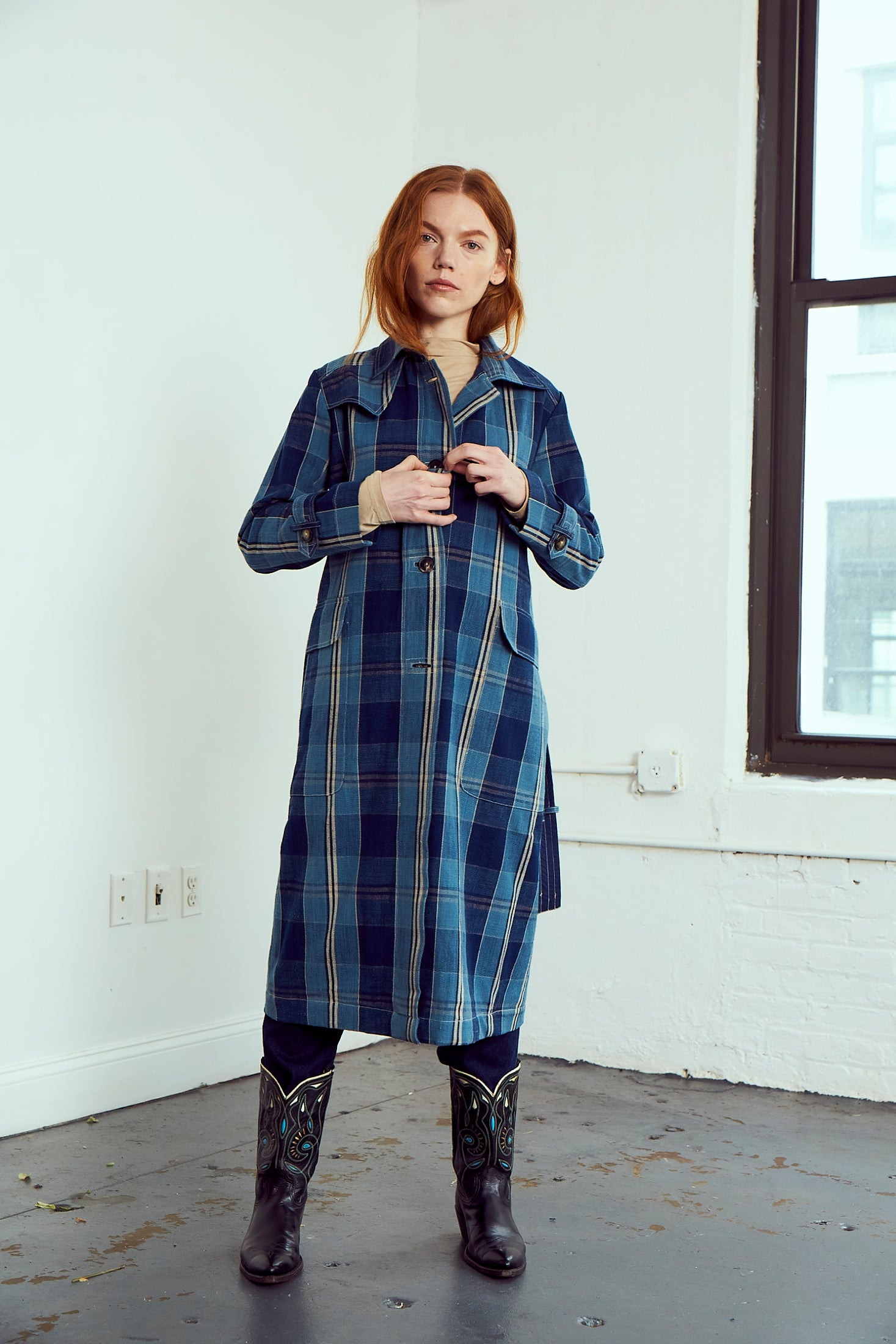 Grass Roots Trench Coat | Royal