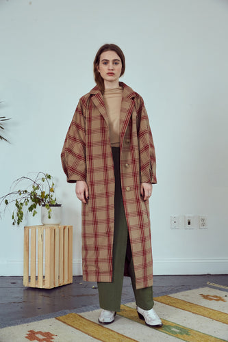 Cocoon Long Coat
