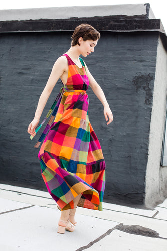 Gema Tier Dress | Multi Chex