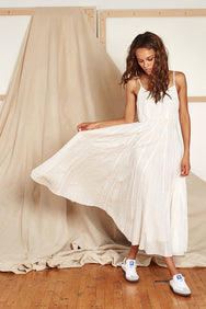 Goa Slip Dress White