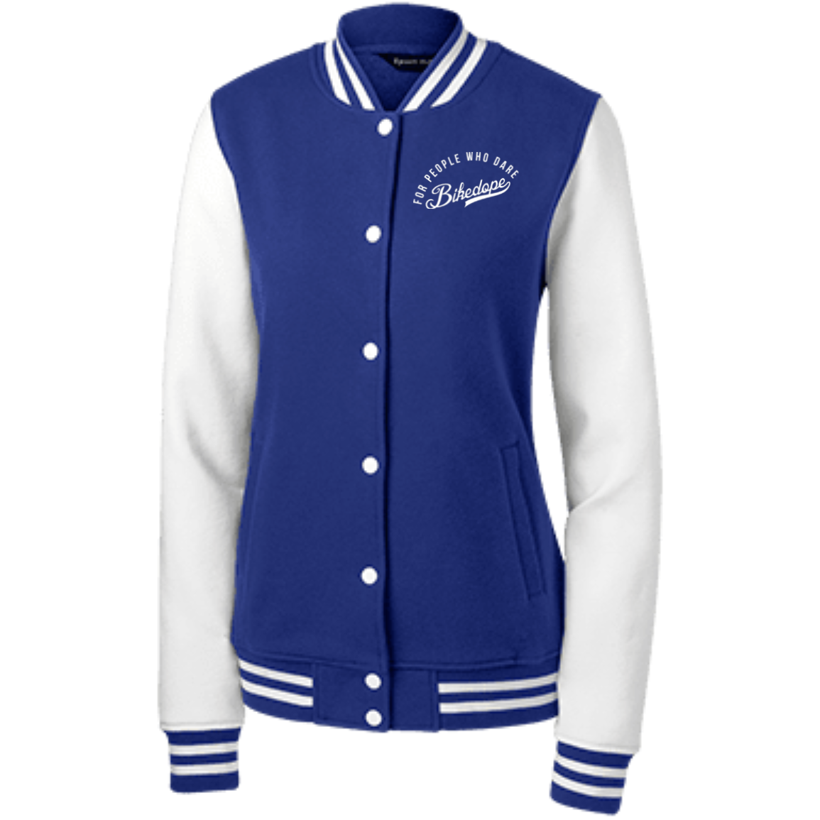 Women's Letterman Jacket (White Lettering)