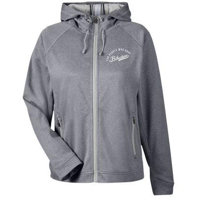 High Performance Hooded Jacket (White Lettering)