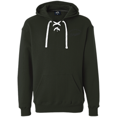 Lace Hoodie (Black Lettering)