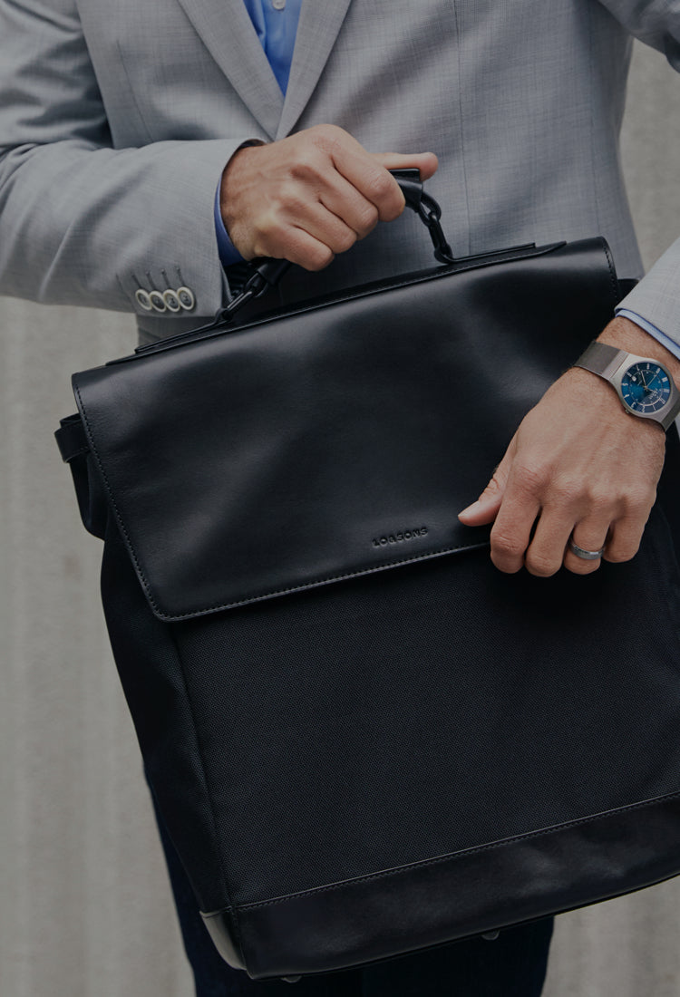 Introducing our new unisex backpack that converts to a briefcase