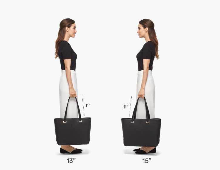The Seville Tote Average Fit Guide 3