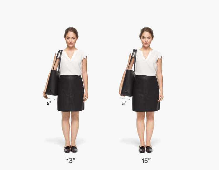 The Seville Tote Short Fit Guide 1