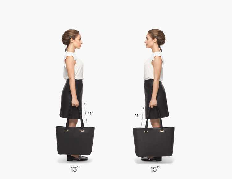 The Seville Tote Short Fit Guide 3