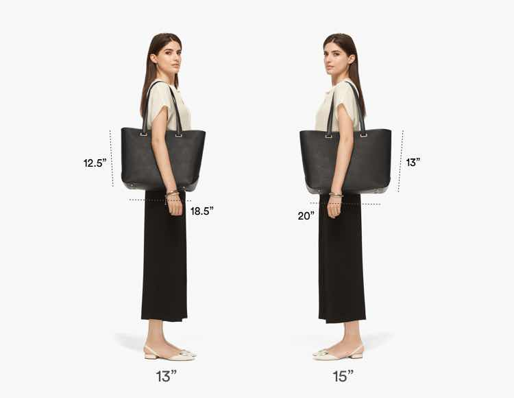 The Seville Tote Tall Fit Guide 2