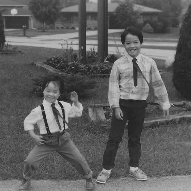 Jan and Derek as boys