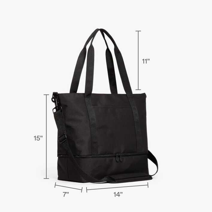 Catalina Deluxe Tote Dimensions